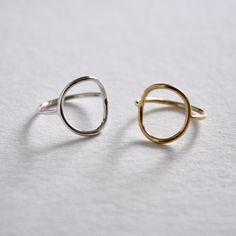 Circle Ring Knot, Gold Rings, Rose Gold, Sterling Silver, Jewelry, Knots, Jewlery, Jewerly, Schmuck