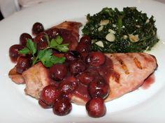 Piept de pui cu sos de vișine Master Chef, Chicken, Meat, Food, Essen, Yemek, Buffalo Chicken, Eten, Meals