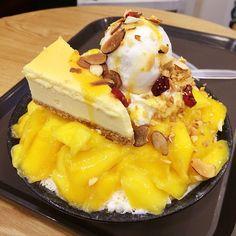 Mango Cheesecake Bingsu @ O'ma Spoon
