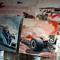 We are big fans of the art of Tom Havlasek here at Motorsport Retro, so we caught up with him to check out his most recent ravishing retro artworks. Automotive Art, Sports Art, Retro Art, F1, Illustrators, Cool Photos, Artworks, Automobile, Toms