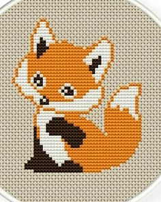 Thrilling Designing Your Own Cross Stitch Embroidery Patterns Ideas. Exhilarating Designing Your Own Cross Stitch Embroidery Patterns Ideas. Cute Cross Stitch, Cross Stitch Animals, Counted Cross Stitch Patterns, Cross Stitch Charts, Cross Stitch Designs, Cross Stitch Embroidery, Embroidery Patterns, Diy Bordados, Diy Broderie