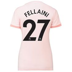 Manchester United Away Shirt 2018-19 - Womens with Fellaini 27 printing 8546f7f8d