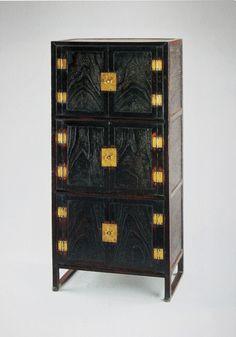 Korean furniture 삼층장 Three tier chest