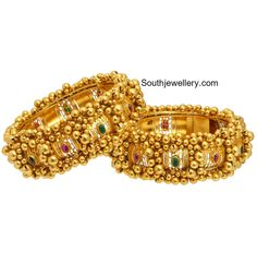 Antique Gold Bangles photo