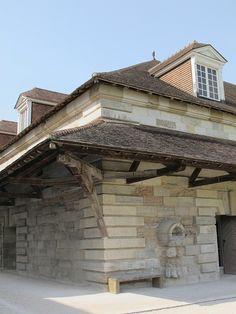 Bâtiment de fabrication des sels, Saline royale (1774-1779) d'Arc-et-Senans - Ledoux