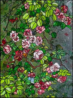 Roses Stained Glass
