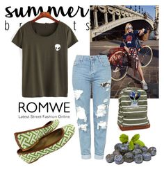 """Romwe"" by amrafashion ❤ liked on Polyvore featuring Burton, Topshop, Aéropostale and Disturbia"
