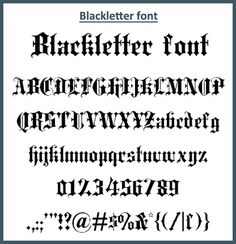30 Amazing Free Old English Fonts