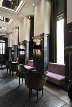 M :: Balthazar Champagne Bar – Hotel D'Angleterre by Space Copenhagen | Interiors 'Undressed' | Pinterest