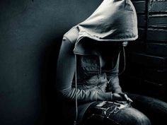 """this image is telling people that she is hurt ,lonely, and depressed. She is also trying to hide her emotions from everyone else to see.   depression photography 