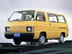 Mitsubishi Delica, Mitsubishi Colt, Delica Van, Nissan Vans, Toyota Van, Van Car, Nissan Infiniti, Cool Vans, Vintage Vans