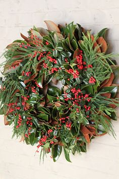 All Things Farmer: Wreaths – an Outward and Visible Sign of the Season