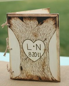 LOVE this guestbook...make it!