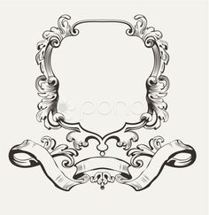 Vector Illustration Of Decorative Frame And Banner - Stock Footage | by 4@azz