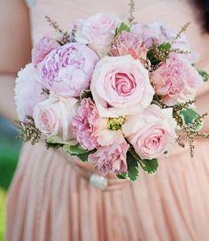 Peony / rose bouquet