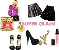 New Years Fashion: Super Glam!
