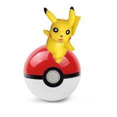 Pok?mon Go Pok? Ball with Pikachu Mini Toy Anime Action Figure - Non-Retail Packaging