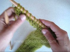 How to cast on new stitches at an edge - Video tutorial by #DROPSDesign #Garnstudio Have you tried this?