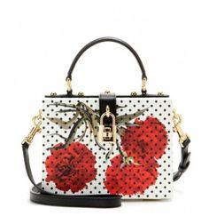 Verzierte Tasche aus Leder By Dolce & Gabbana