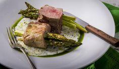 Spárgával szúrt sertésszűz | Clean Eating Magyarország Steak, Clean Eating, Pork, Beef, Cleaning, Diets, Kale Stir Fry, Meat, Eat Healthy