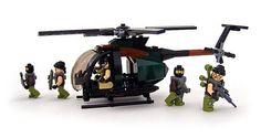 Little Bird - 02 by Legohaulic Lego Helicopter, Lego Plane, Lego Soldiers, Lego Ship, Lego Construction, All Lego, Lego War, 4x4, Lego Worlds