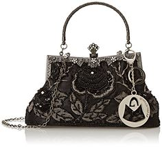 MG Collection Ginny Exquisite Antique Seed Beaded Rose Evening Bag, Black, One Size MG Collection http://www.amazon.com/dp/B0050WCKT2/ref=cm_sw_r_pi_dp_F9pyvb0ZXE32E