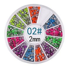 Tint 6-color 2MM Round Rivet Nail Art Decorations *** Check out this great product.