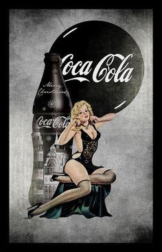 *m. Coca-Cola pinup