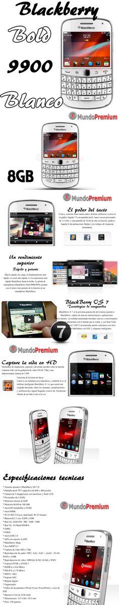 Comprar Blackberry Bold 9900 Blanco | venta de Blackberry Bold 9900 Blanco Argentina