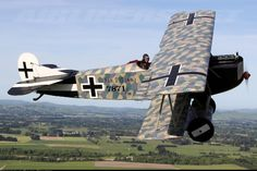 Two Legendary Fokkers from The Vintage Aviator. - Photo taken at In Flight in New Zealand on April 9, 2009.