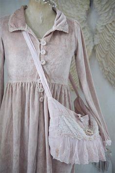 Jeanne d´Arc Living Tasche Beutel shabby vintage Brocante in Kleidung & Accessoires, Vintage-Mode, Vintage-Accessoires | eBay