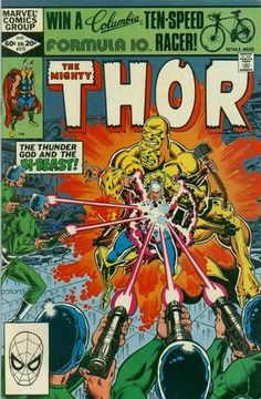 Very Fine condition, and touch Read More for grading details for this Thor comic book, Thor series) by Marvel comics, and to knock down the total for this Thor comic, touch Read More. Thor Comic Book, Comic 8, Best Comic Books, Comic Book Pages, Comic Book Covers, Comic Book Heroes, Marvel Art, Marvel Heroes, The Mighty Thor