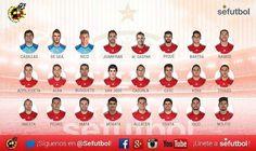 Lista de convocados de #España para los partidos contra #Inglaterra y #Bélgica