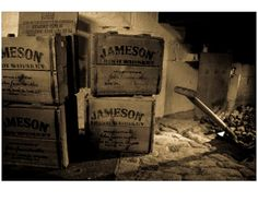 "Old Jameson Distillery 18"" x 24"". $85.00, via Etsy. Gorgeous Prints by Mark Gillespie"