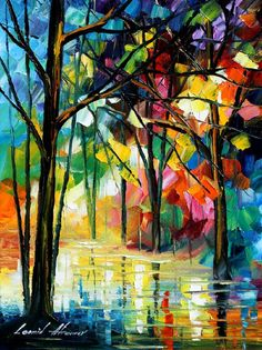 So colorful! By Leonid Afremov
