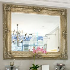 Ornate Mirrors Gilt framed - Silver | Mirrors & Cabinets | Accessories | Bathrooms