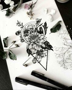 50 Arm Floral Tattoo Designs für Frauen 2019 – Seite 19 von 50 – Gift World Cute Tattoos, Unique Tattoos, Beautiful Tattoos, New Tattoos, Body Art Tattoos, Sleeve Tattoos, Tatoos, Tricep Tattoos, Artistic Tattoos