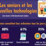 [Infographie Les Senioriales] : Les seniors et les réseaux sociaux — Silver Economie
