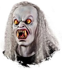 Yellow-Eyed Vampire Light-Up Mask - #HalloweenAccessories #Halloween #Coupons #Offers