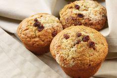 Apple, raisin and banana muffins via MyFamily.kiwi
