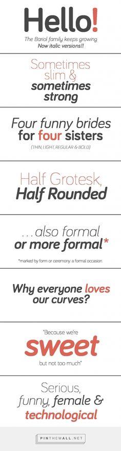 Bariol Typeface - created via https://pinthemall.net