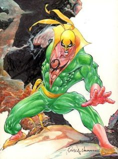 Two Iron Fist commissions by Rudy Nebres.  Two Iron Fist commissions by Rudy Nebres.