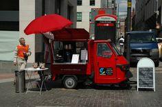 Piaggio Ape Pop-Up Cafe Van