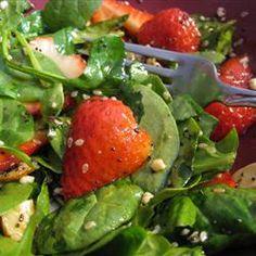 Strawberry Spinach Salad I Allrecipes.com