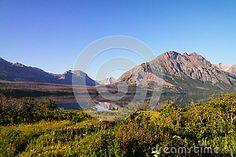The landscape of Glacier National park in Montana.