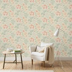 Wallpaper Ava Beige | Sandberg Wallpaper