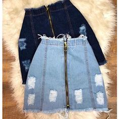 Women S Fashion Queen Street Mall Denim Skirt Outfits, Denim Outfit, Dress Outfits, Cute Casual Outfits, Chic Outfits, Girl Outfits, Teenage Outfits, Teen Fashion Outfits, Fashion Fall