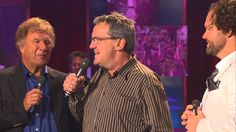 Mark Lowry, Michael English, Bill Gaither, David Phelps - Home, Where I Belong [Live] Gaither Gospel, Gaither Vocal Band, Christian Comedians, Christian Songs, Mark Lowry, Pretty Songs, Southern Gospel Music, Spiritual Music, Sing To The Lord