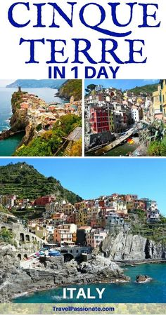 Planniing a day trip to Cinque Terre? Find here all the information you need on how to spend one day in Cinque Terre, Italy. How to get to Cinque Terre from Florence, Milan etc, Day trips and tours things to do in Cinque Terre as a day trip.