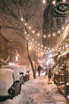 NYC gorgeous, rain or snow